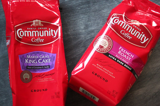 community coffee king cake