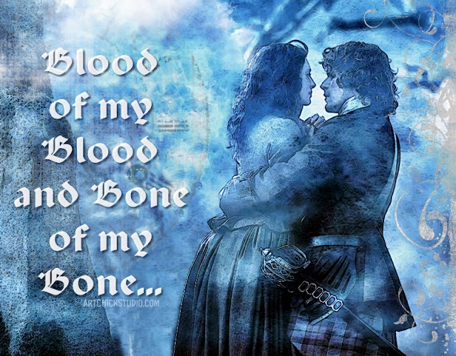 Outlander Blood of My Blood Digital Art
