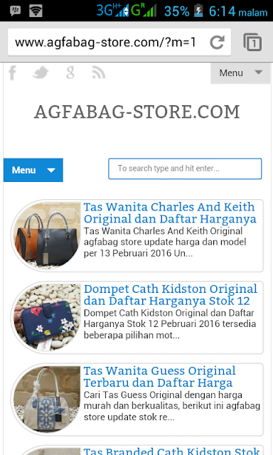 Toko Online Yang Jual Tas Branded Original Terpercaya