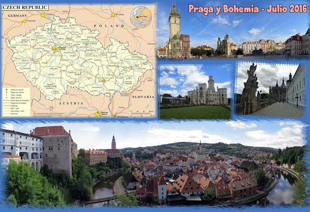 Escapada a Praga y Bohemia