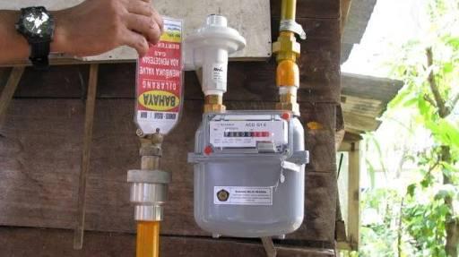 Warga Keluhkan Tarif  Jaringan Gas Rumah Tangga