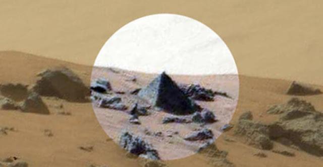 NASA đang che giấu sự thật về Kim Tự Tháp trên sao Hỏa