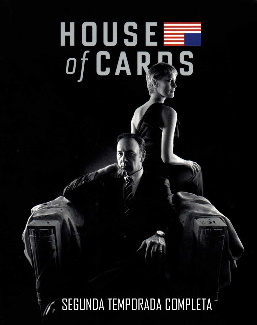 House of Cards 2ª Temporada Torrent - Blu-ray Rip 720p Dual Áudio (2014)