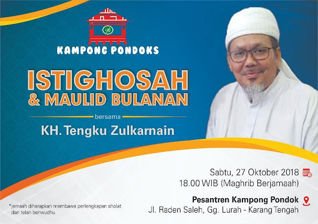 Pesantren Kampong Pondok Gelar Istighosah Bersama KH Tengku Zulkarnaen, 27 Oktober 2018