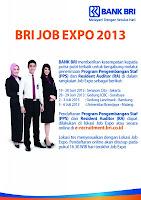 Lowongan Kerja Juli 2013 Bank BRI