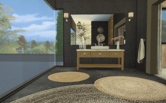 salle de bain luxe sims 4