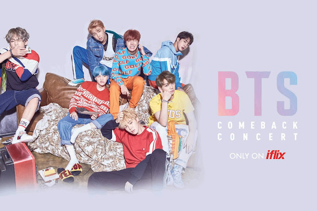 Watch the COMEBACK SHOW - BTS DNA Concert on iflix