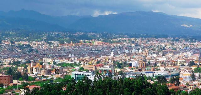 Panorâmica de Cuenca – Equador