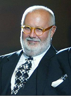 The Italian fashion designer Gianfranco Ferré