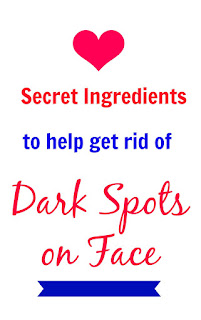 Know how to get rid of dark spots on face