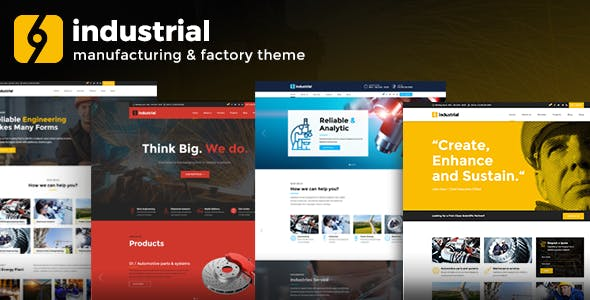 Industrial v1.2.6 - Corporate, Industry & Factory