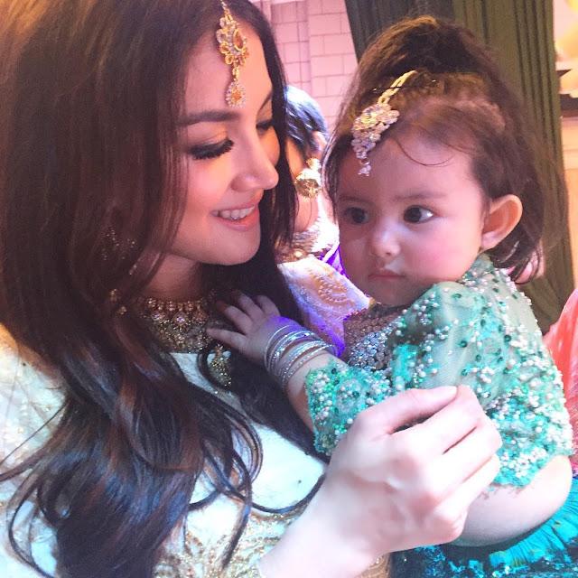 Foto Comel Aaisyah Dhia Rana ala bollywood