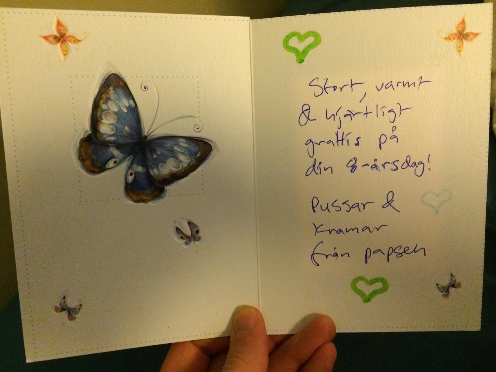 födelsedagskort text trulpens lilla gröna: Födelsedagsbarn födelsedagskort text
