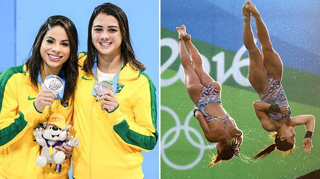 Brazilian diving duo split over Olympic village sex scandal