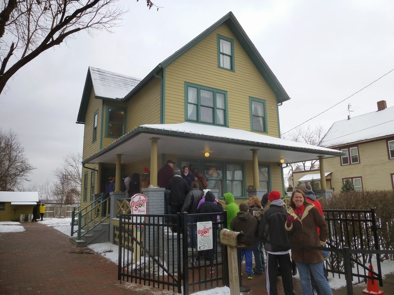Christmas Story Location.Pillsbury Press Christmas Story House