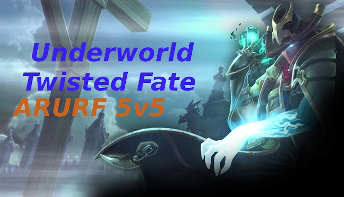 BoMBa7a Win 5v5 ARURF with Underworld Twisted Fate