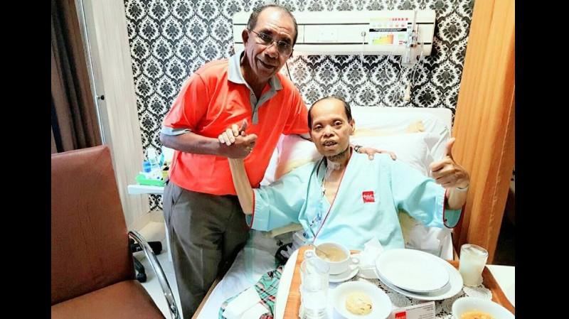 Sutan Bhatoegana terbaring di RS Bogor Medical Center Bogor