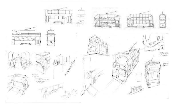 XIIImouse design: Hong Kong Tram redesign