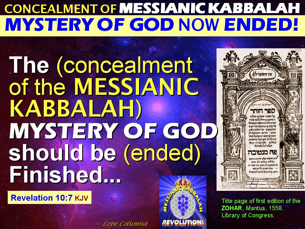 The MESSIANIC KABBALAH REVOLUTION!: TIMELINE: HOW THE FAMINE