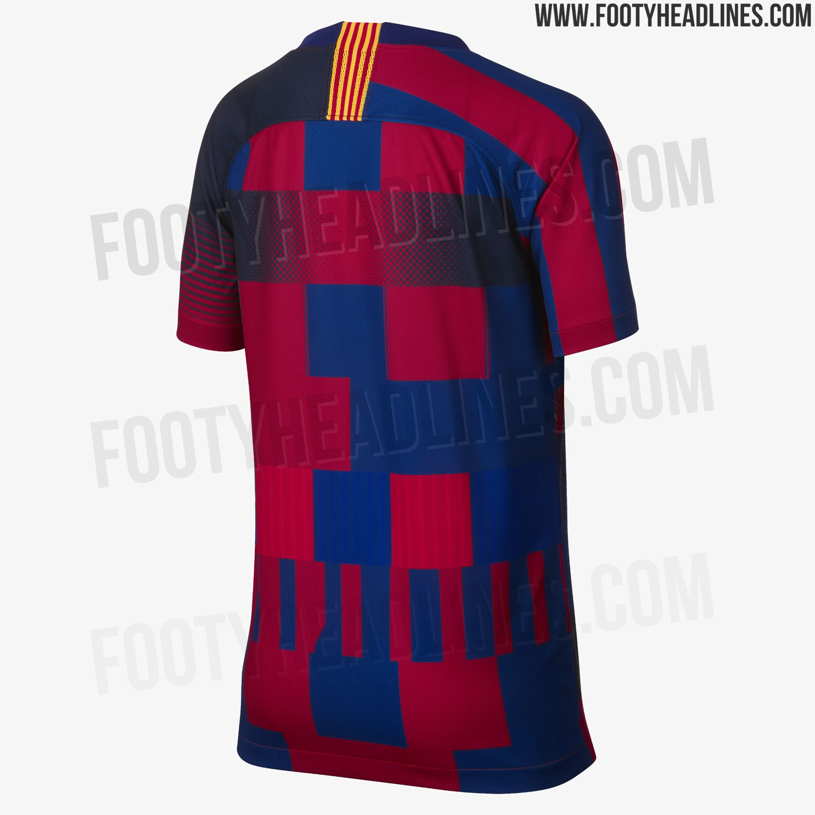 sports shoes 1a293 b99d0 New Official Pictures: Nike FC Barcelona Mashup Jersey ...