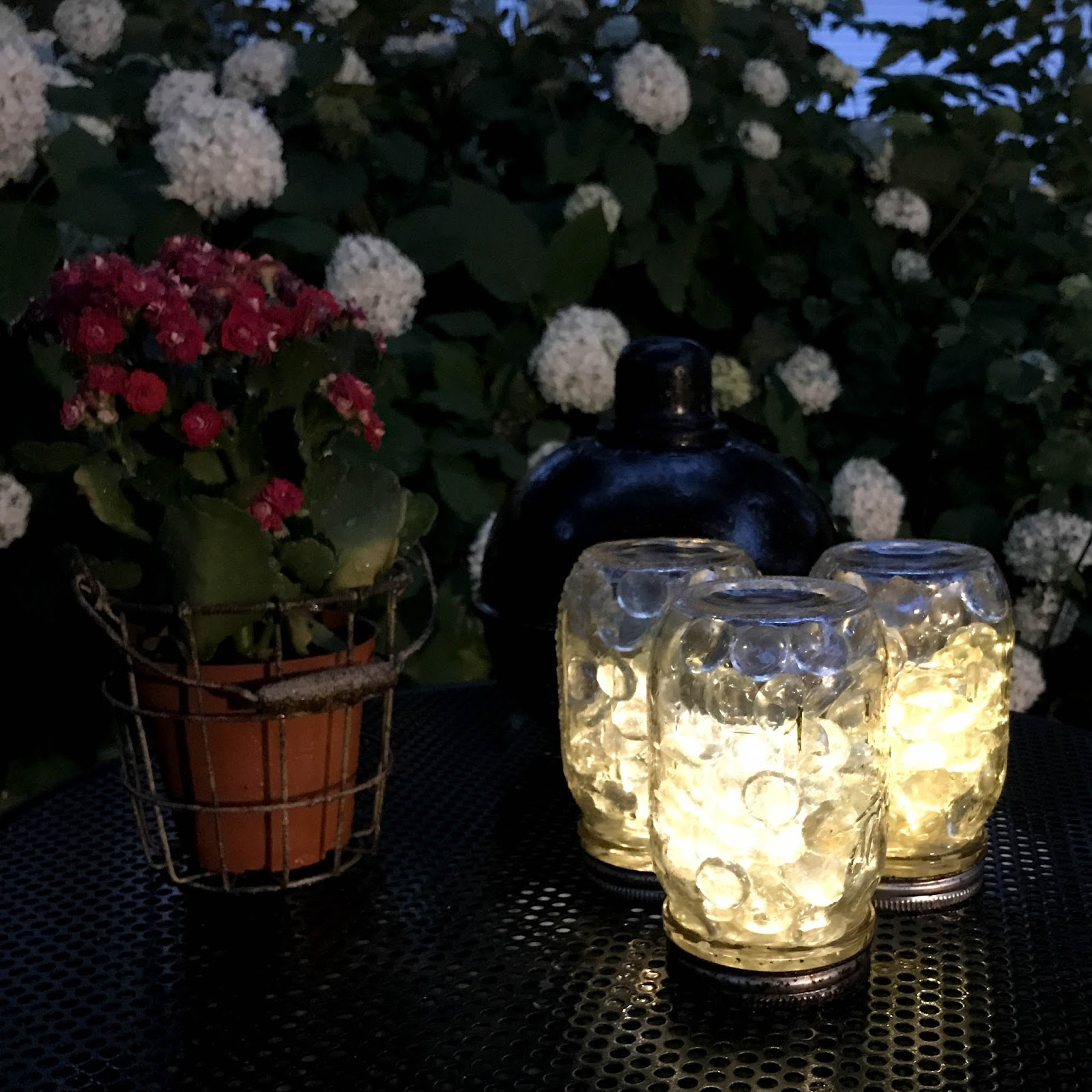 Diy Mason Jar Patio Lights Doused In