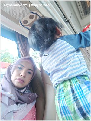 Liburan bersama anak dengan bus