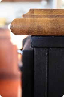 decorative edge on butcher block