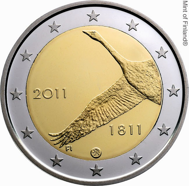 2 euro Finland 2011, Bank of Finland
