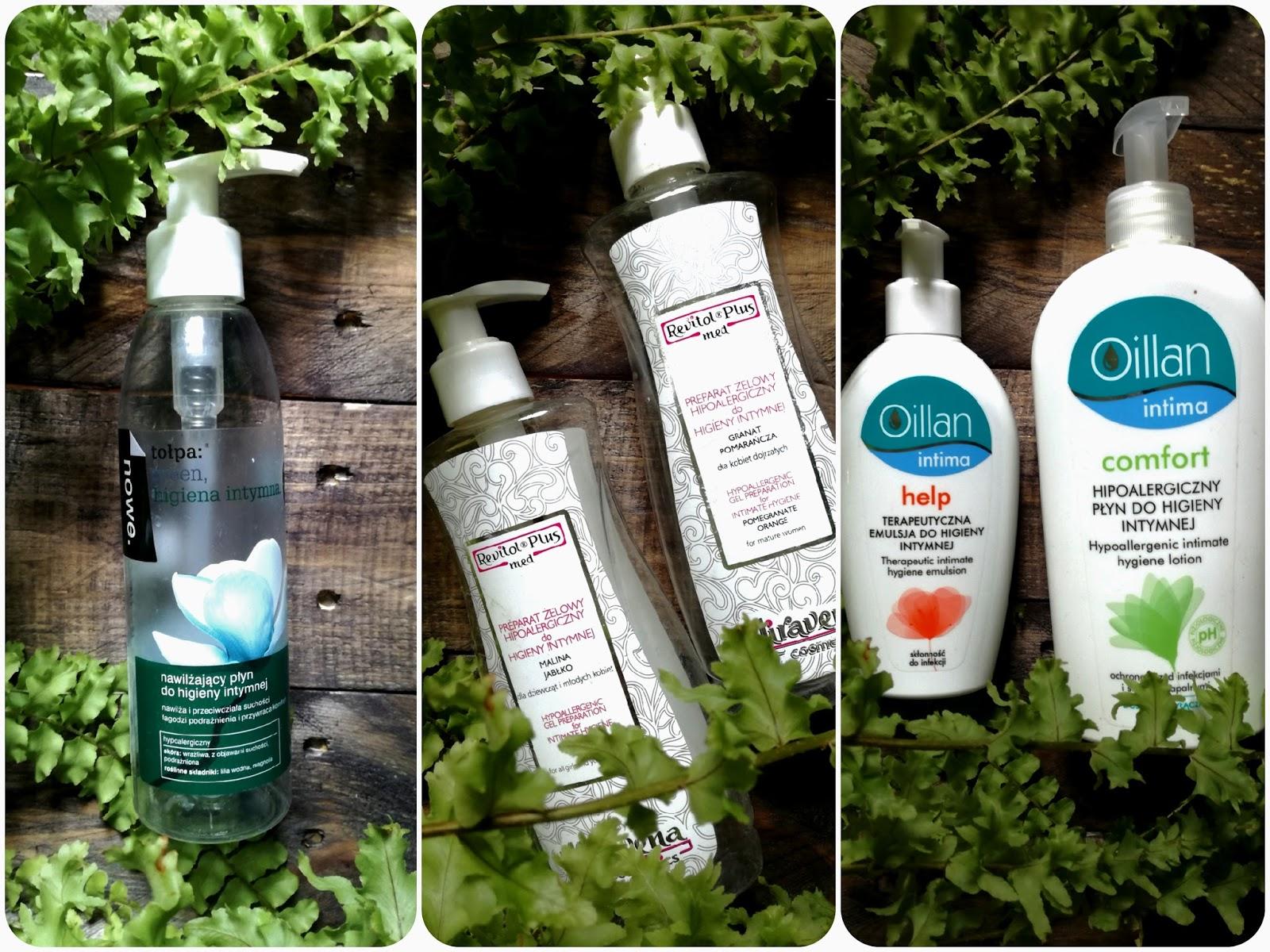 Preparaty do higieny intymnej: czym kierować się przy wyborze? Produkty których używam : Tołpa, Oillan, Miravena