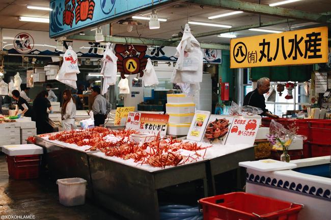 境港 市場 蟹