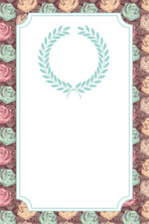 Colored Roses Free Printable Party Kit.