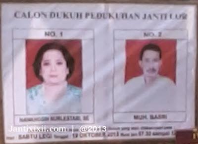 Calon dukuh Janti Lor XI Nanggulan Kulon Progo