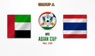 مشاهدة مباراة الامارات وتايلاند بث مباشر بتاريخ 14-01-2019 كأس آسيا 2019