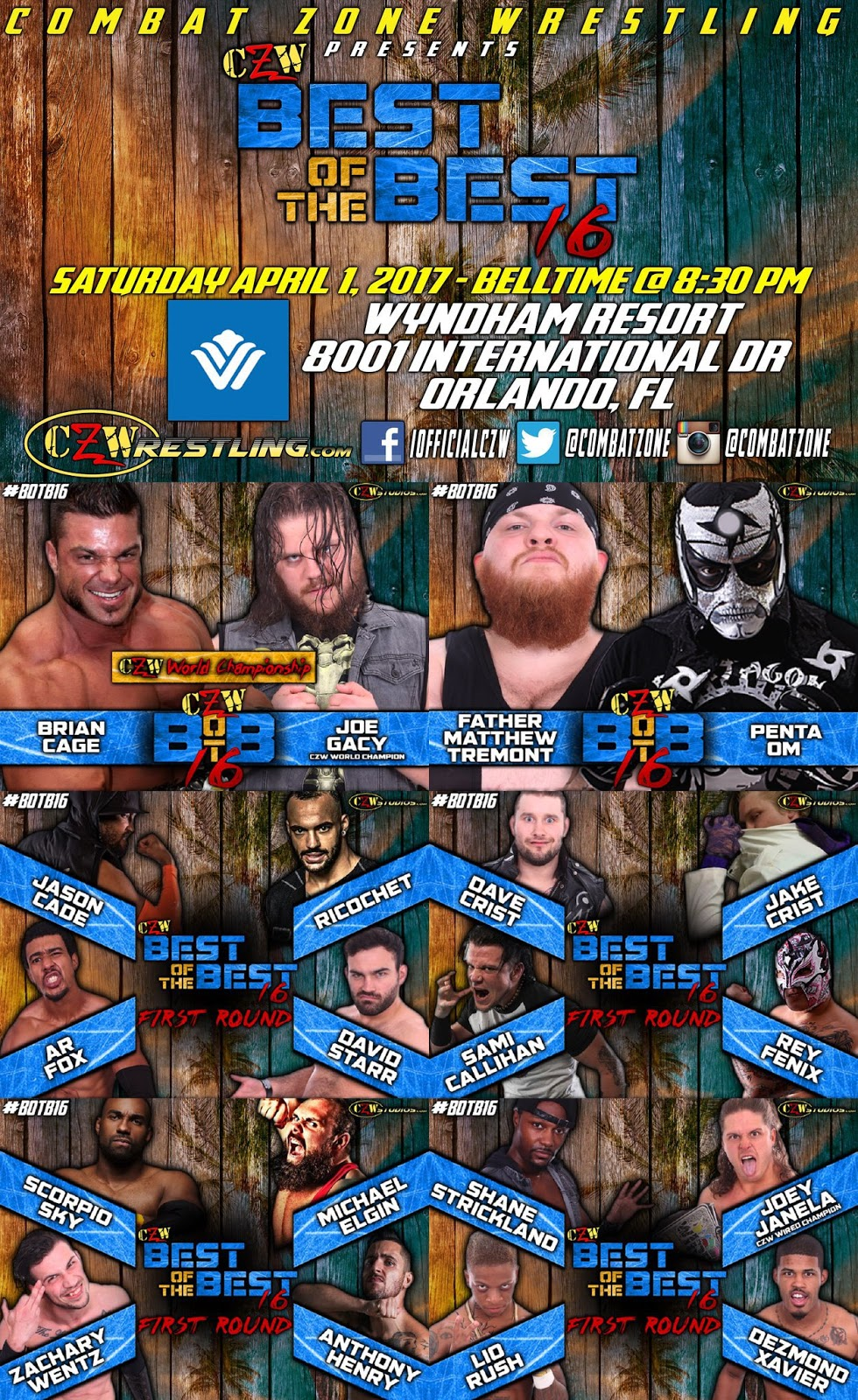 The Wrestling HUB: Reviews: CZW Best Of The Best 16 Review