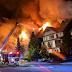 حريق كبير يندلع في قرية ويسلر