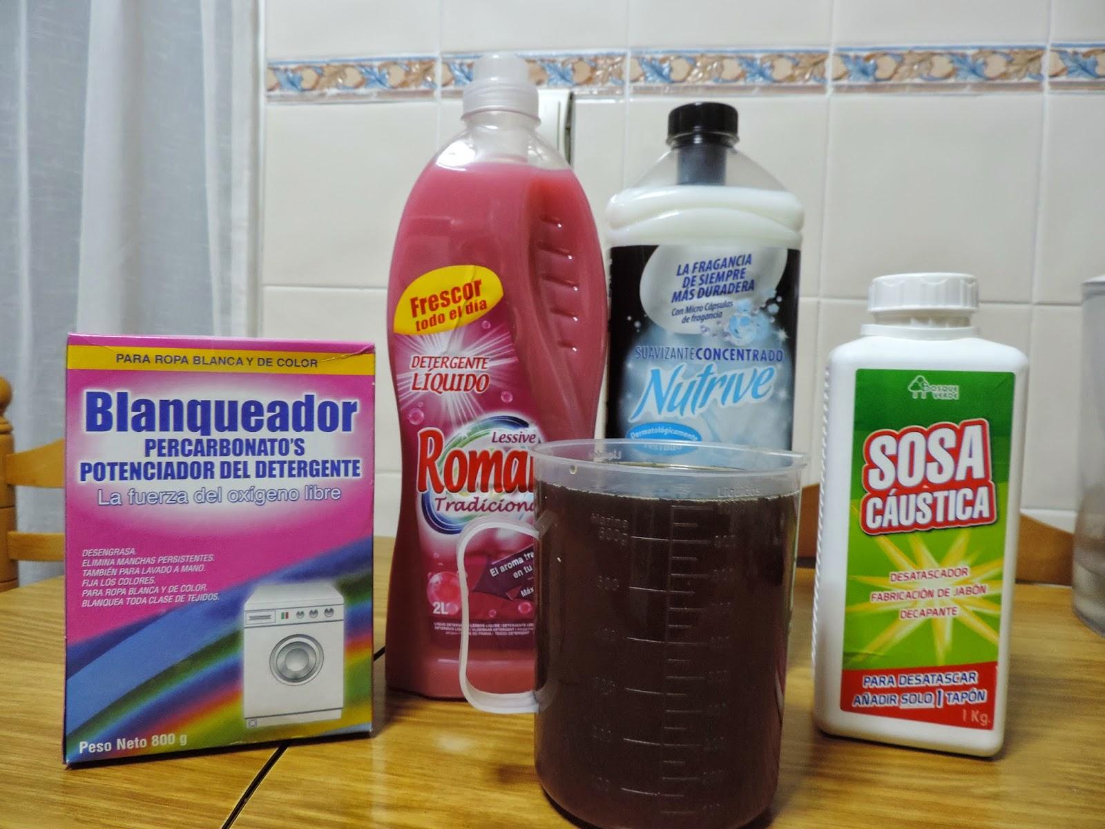 Cosas de cari jabon liquido casero para la lavadora - Jabon lavadora casero ...