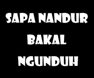 Terbaru ! DP BBM Sindiran Bahasa Jawa Halus Tapi Mengena