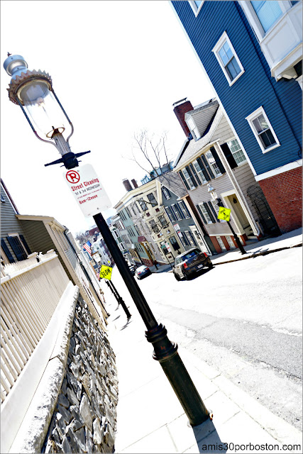 Farola de Gas en Charlestown, Boston
