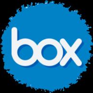 box social button
