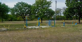 Клебан-Бик. Шкільний спортивний майданчик
