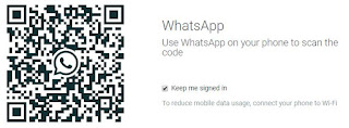 WhatsApp web Storage Location