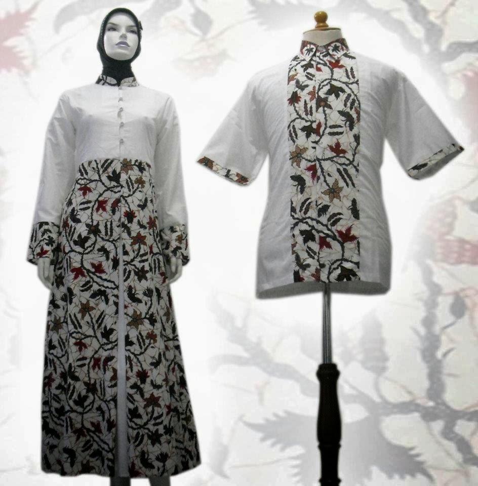 Batik Kerja Couple Terbaru: Model Desain Baju Batik Couple Pria Wanita Terbaru