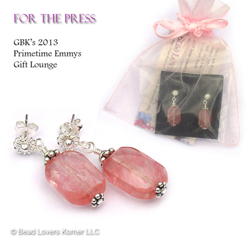 Earrings for the Press
