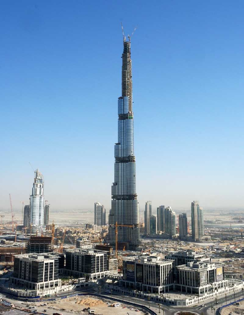 The World Visit Dubai Tallest Building Opening