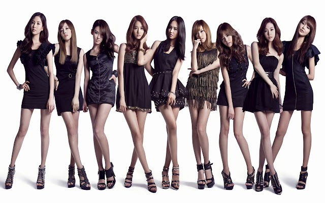 Free Beautiful Girls Generation SNSD HD wallpapers download
