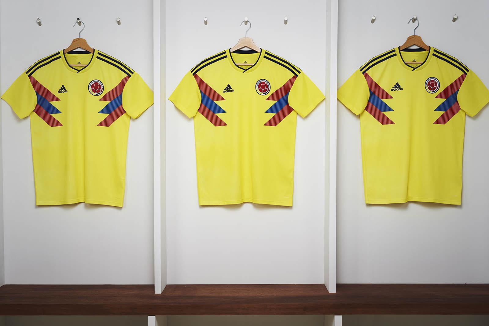 Adidas e Colombia per il Mondiale 2018 | numerosette.eu