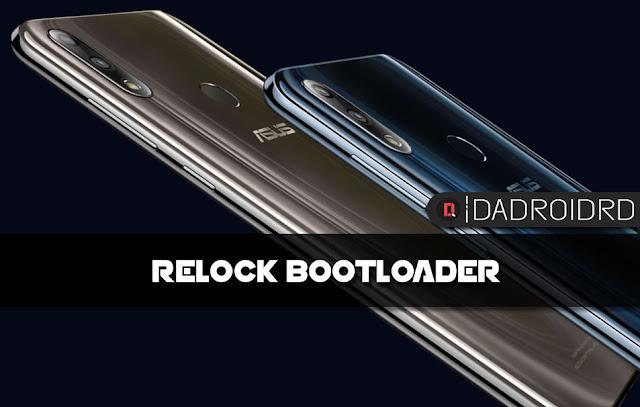 Cara Relock Bootloader Zenfone Max Pro M2