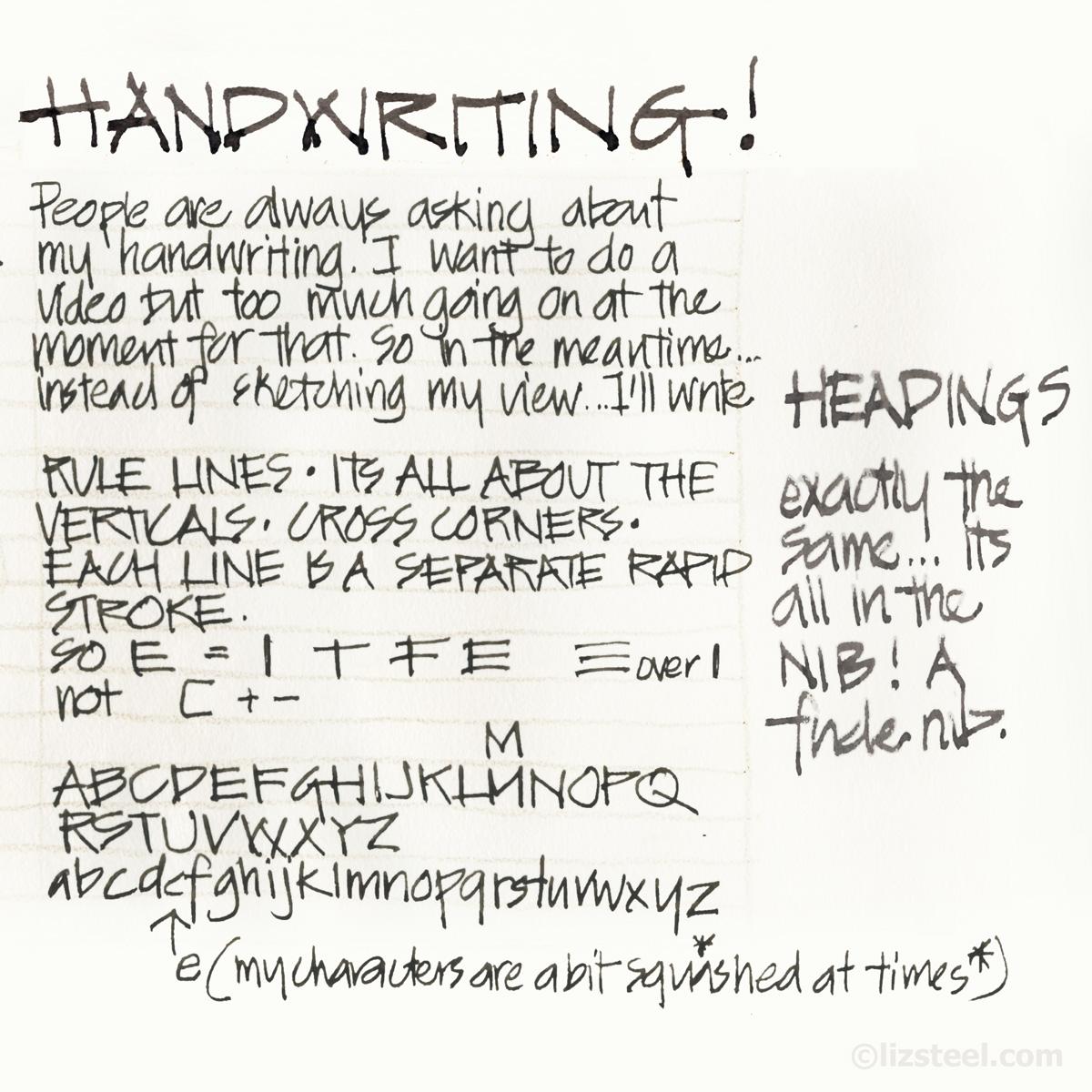 My Architect S Handwriting