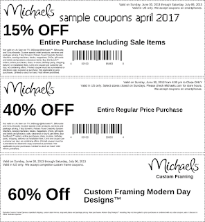 Michaels coupons april