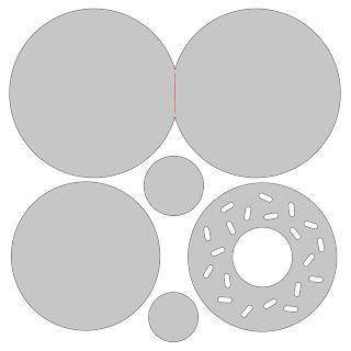 Donut Card Dies